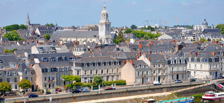 City of Angers in France